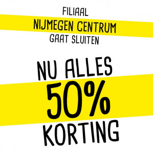 Xenos Nijmegen Centrum 50% korting