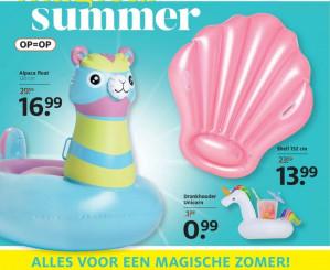 Alpaca luchtbed voor €16,99