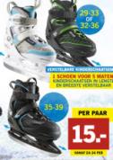 Diverse schaatsen vanaf €15