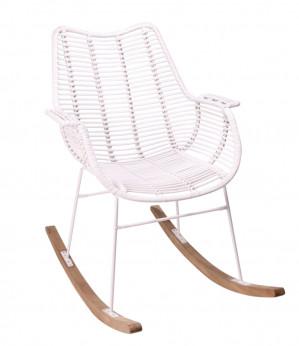 Kidsdepot schommelstoel Rocking Billy white voor €149,99