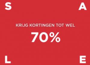 Summer sale tot 70% korting