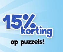 Diverse spellen en puzzels met 15% korting