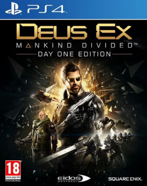 Deus Ex: Mankind Divided - Day One Edition - PS4 voor €3,99