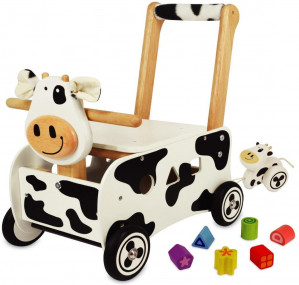 I'm Toy Loopwagen Koe voor €32,90