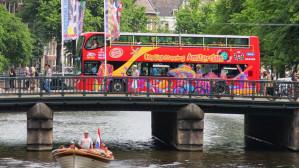 City Sightseeing Amsterdam met 40% korting dmv ISIC kaart