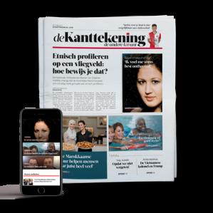 De nieuwe krant 'De Kanttekening' 4 weken Gratis
