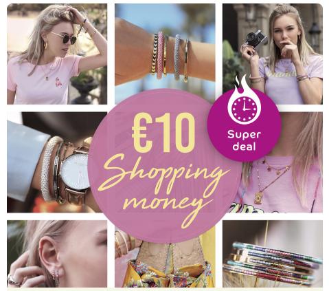 Bij My Jewellery €10 korting bij inlevering 10 Eurospaarpunten