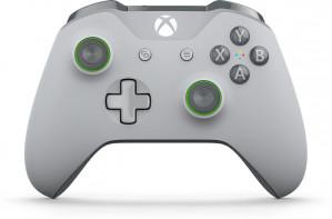 Xbox One S Draadloze Controller - Grey & Green voor €39,99