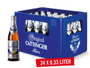 Krat Oettinger 24 flesjes x 0,33cl voor €5,99