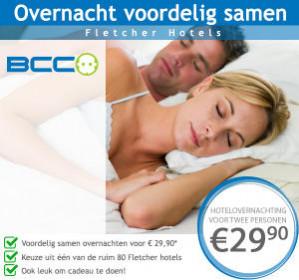 Fletcher Hotel Waardevoucher voor 2 personen voor €29,90