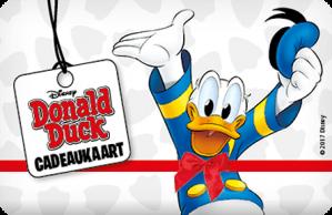 €2,50 korting per Donald Duck Cadeaukaart
