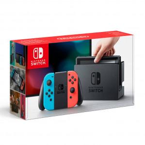 Nintendo Switch met Switch Rood en Blauw Joy-Con voor €309