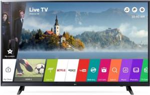 LG 43UJ620V 43'' 4K Ultra HD Smart TV Wi-Fi Zwart LED TV voor €399