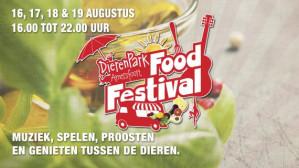 Entree Dierenpark Amersfoort Foodfestival voor €5