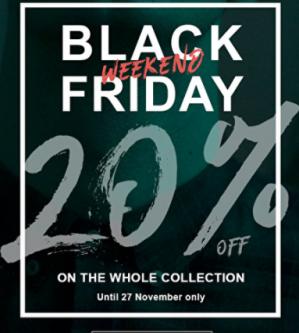 Black Friday bij Morato met 20% korting op alle artikelen