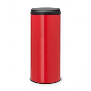 Brabantia FlipBin Prullenbak - 30 l - Passion Red voor €23,40