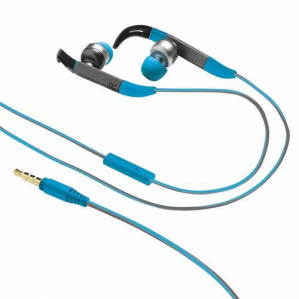 Fit In-Ear Sports in ear koptelefoon blauw voor €9