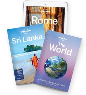1+1 gratis op alle Lonely Planet reisboeken