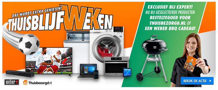 Ontvang besteltegoed voor Thuisbezorgd.nl of ontvang een gratis Weber BBQ bij je bestelling