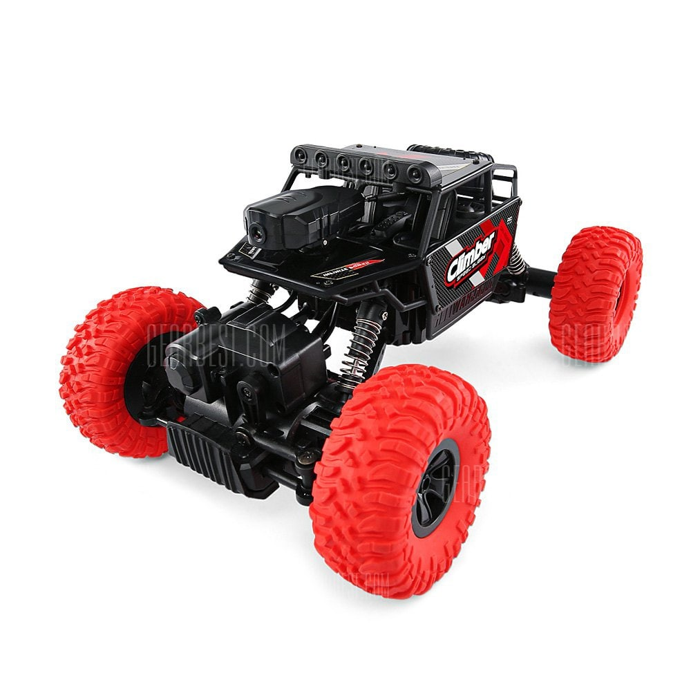 JJRC 4WD RC Off-road Car WiFi FPV - RED voor €29,74