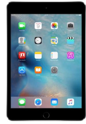 Apple iPad Mini 4 128GB Wifi Tablet - Spacegrijs voor €399