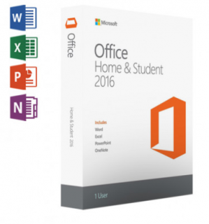 Microsoft Office Home and Student 2016 voor €59,95