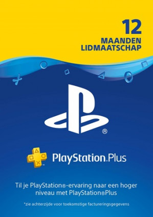 Black Friday deal 12 maanden Playstation Plus voor €39,99