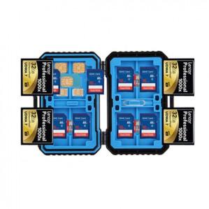 SD CF TF SIM Card Pin Memory Card Waterproof Storage Box voor €3,13 dmv code