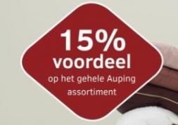Auping Wintersale met 15% korting