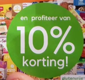Kortingscode Glutenvrijemarkt voor 10% korting op je bestelling