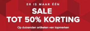 Bijenkorf Sale tot 60% korting