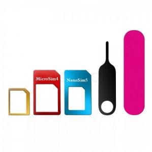 Nano/Micro/Standard Sim Card Adapter Kit voor €0,30 dmv code
