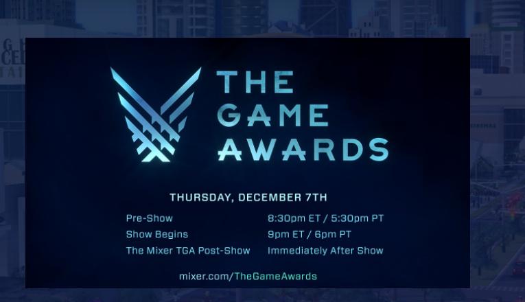 Mixplot met games of DLC Gratis bij het live kijken van The Game Awards