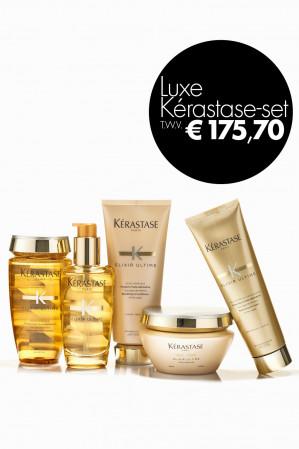 5x Vogue + Luxe Kérastase Elixir Ultime-set voor €34,75 (ex €6,95 verzendkosten)