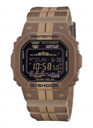 G-SHOCK Horloge wood print voor €89,90