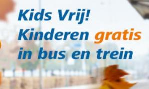 Kids Vrij Trein Abonnement voor kinderen van 4 t/m 11 jaar voor €0,01
