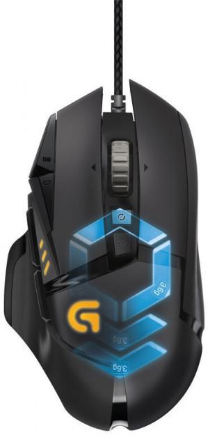Logitech - Proteus Spectrum Gaming Mouse (G502) voor €45,20