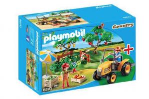 Boomgaard starterset Playmobil (6870) voor €12,50