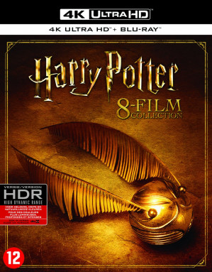 Harry Potter - Complete 8-Film Collection 4K Ultra HD  voor €29,99