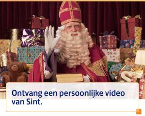 Persoonlijke Sinterklaas videoboodschap voor de kinderen Gratis