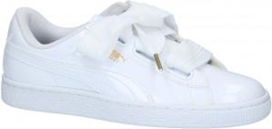 PUMA Basket Heart Patent dames sneakers voor €35