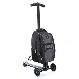 iubest IU QB01 3-wheel Detachable Backpack Scooter voor €110,08