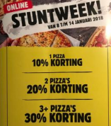 Domino's kortingen tot 30%