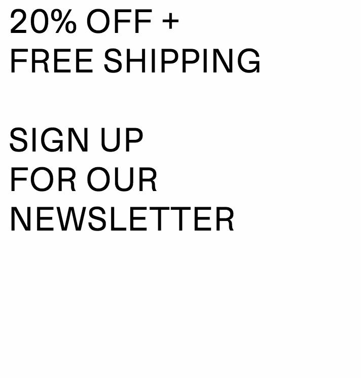 20% korting + gratis verzending op je bestelling