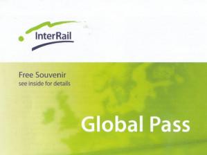 Interrail Global Pass 15% korting