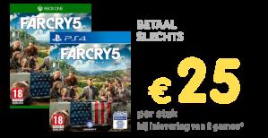 Far Cry 5 & Ni no Kuni II - Revenant Kingdom vanaf €25