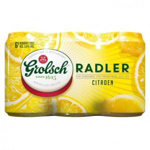Grolsch Radler citroen 1+1 Gratis
