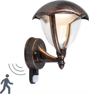 Trio Leuchten WL Cappe - Wandlamp - 1 lichts - D 200 mm - roestbruin voor €26,99