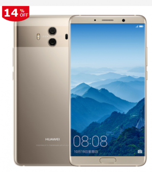 HUAWEI Mate 10 4GB + 64GB champagne gold mobile phone voor €411,92