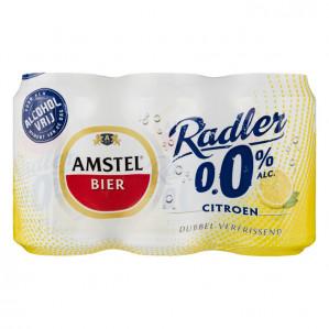Amstel Radler 0,0% Citroen 0% suiker 2 sixpack voor €3